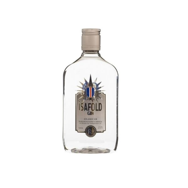 Ísafold gin 0.5 litre bottle of Icelandic gin