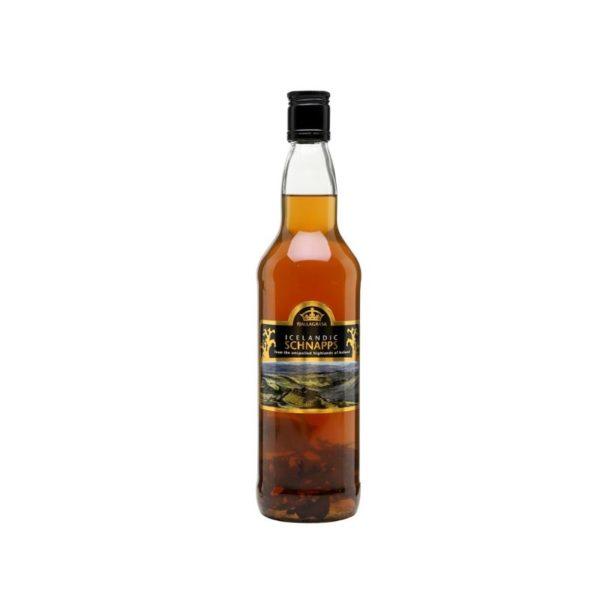 Fjallagrasa bottle of the Icelandic moss schnapps