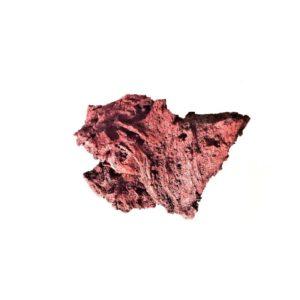 Icelandic red lava stone