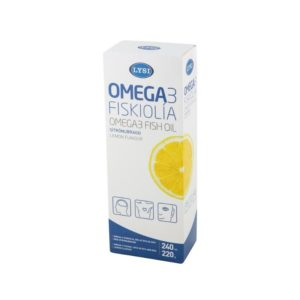 Lýsi Omega3 fish oil with lemon flavour